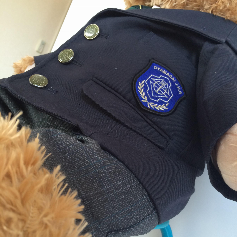 ミニチュア制服のエンブレム