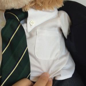 制服シャツの箱ポケット