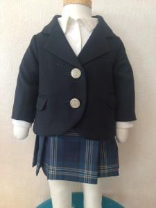 女の子ミニチュア制服