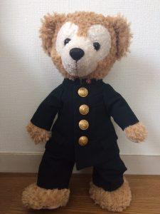 ダッフィーのミニチュア制服