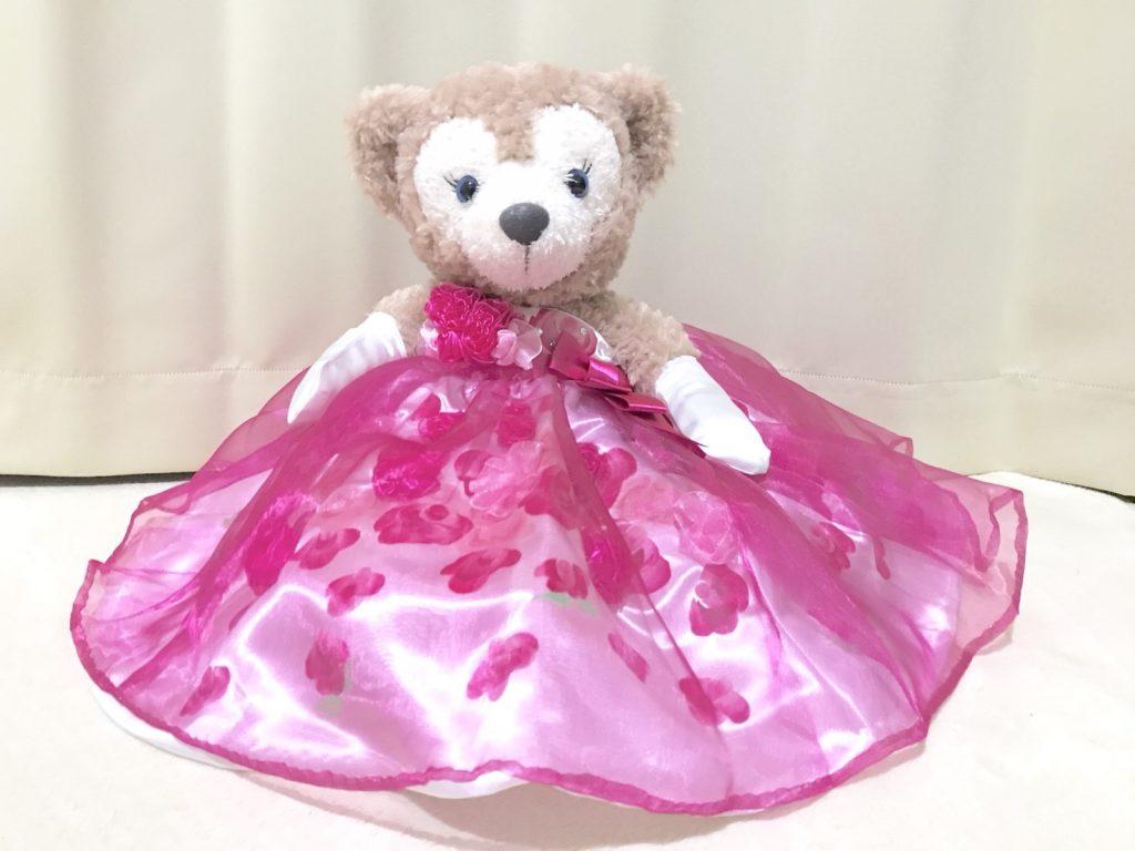 カラードレスを着たシェリーメイ